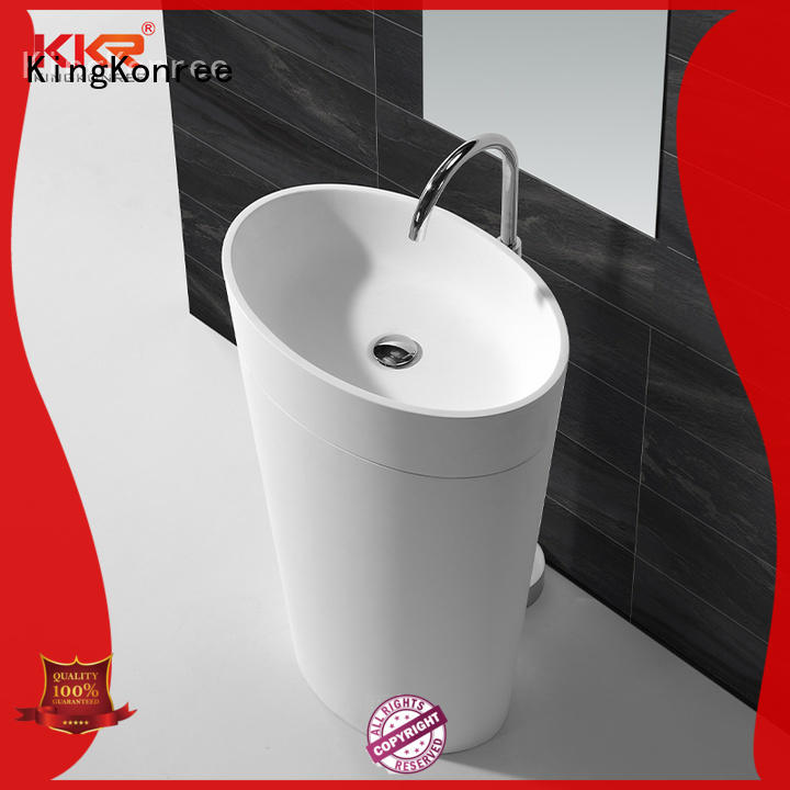 KingKonree solid surface basin top-brand for shower room
