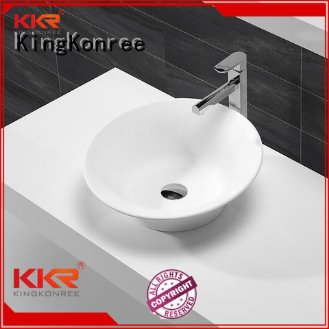 Hot oval above counter basin kkr KingKonree Brand