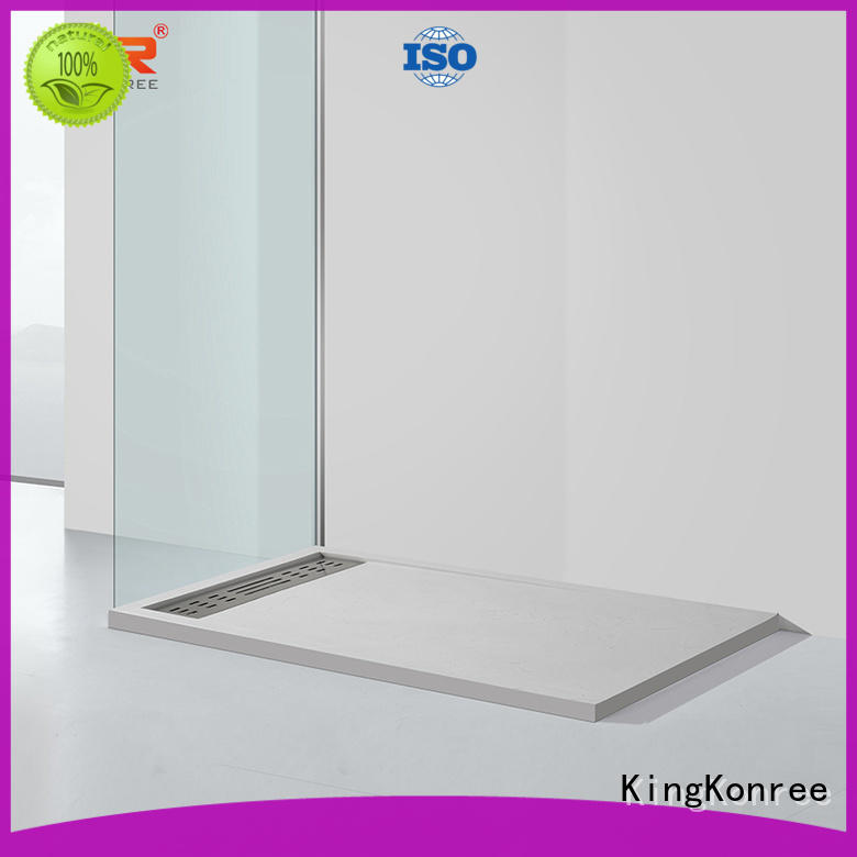 pan shape narrow shower tray at -discount for hotel