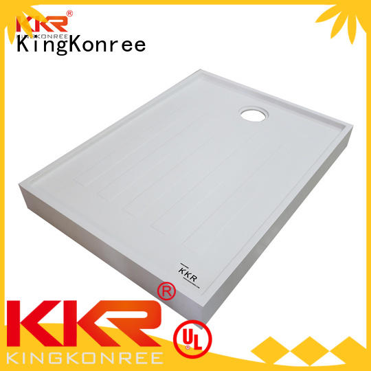 KingKonree square shower tray customized for bathroom
