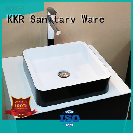 pure rectangle above counter basin manufacturer for room