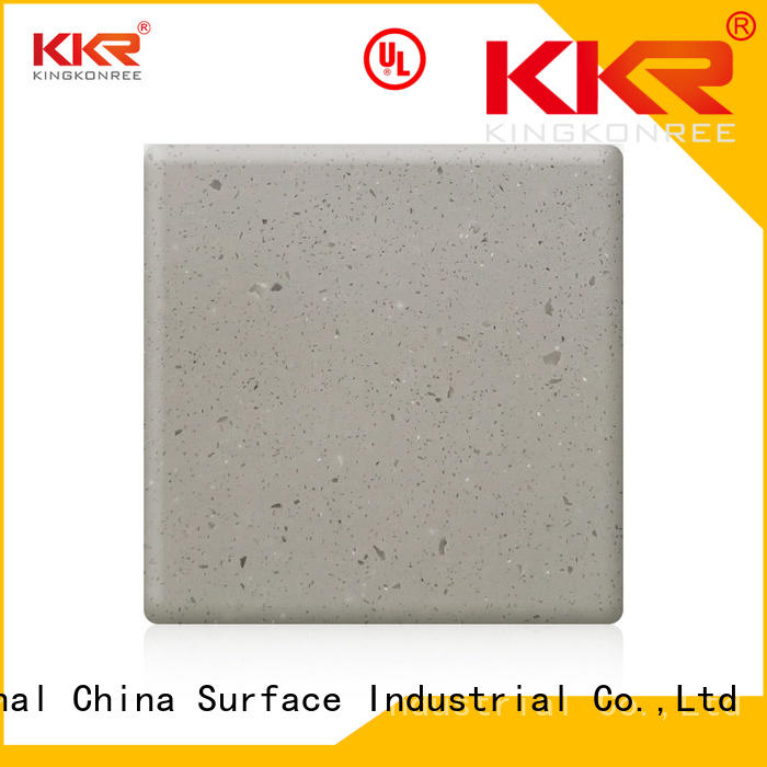 Hot solid solid surface countertops prices 100 kkr KingKonree Brand