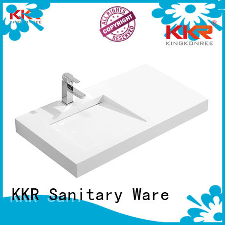 KingKonree Brand modern wall mounted wash basins small factory