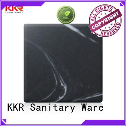 KingKonree grey solid surface sheets supplier for hotel