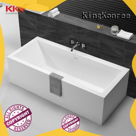 sanitary ware suppliers black fot bathtub KingKonree