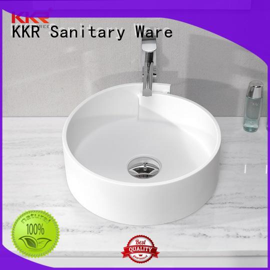 KingKonree basin above counter basin round cheap sample for hotel