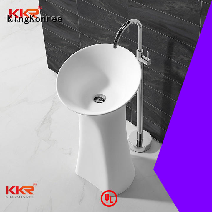 faux freestanding surface freestanding basin kkr KingKonree
