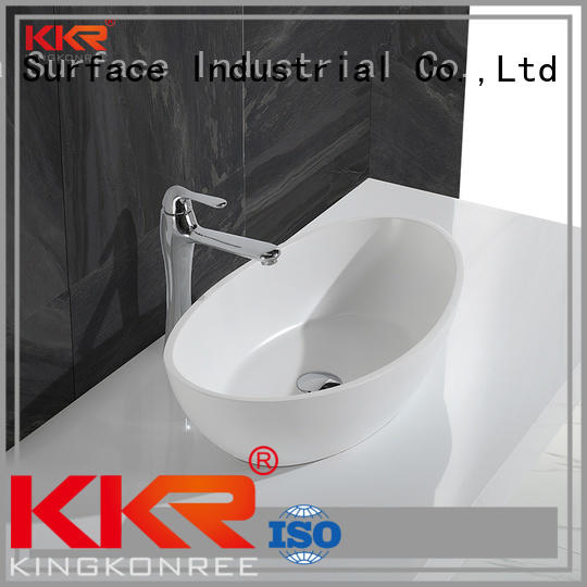 KingKonree Brand kkr rectangle shape custom oval above counter basin