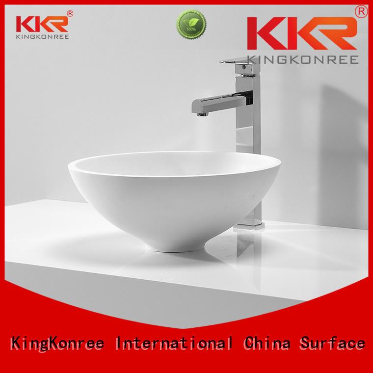 oval above counter basin solid shape oval KingKonree Brand