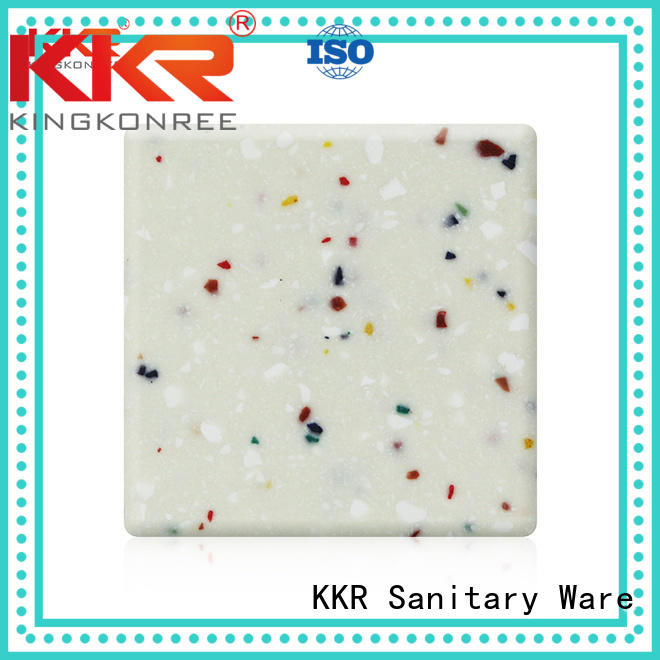 Quality KingKonree Brand sheets length modified acrylic solid surface