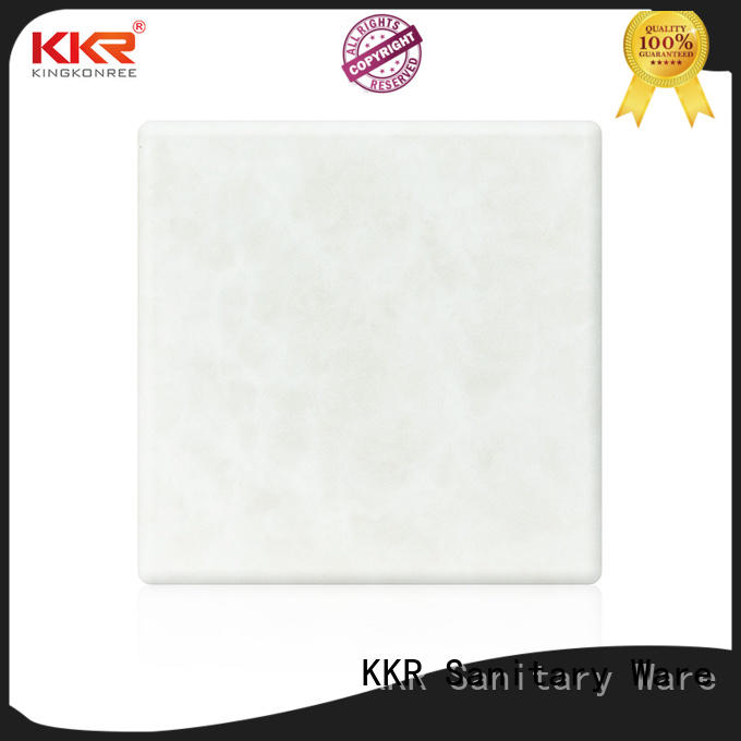 KingKonree artificial backlit translucent acrylic wall panels supplier for hotel