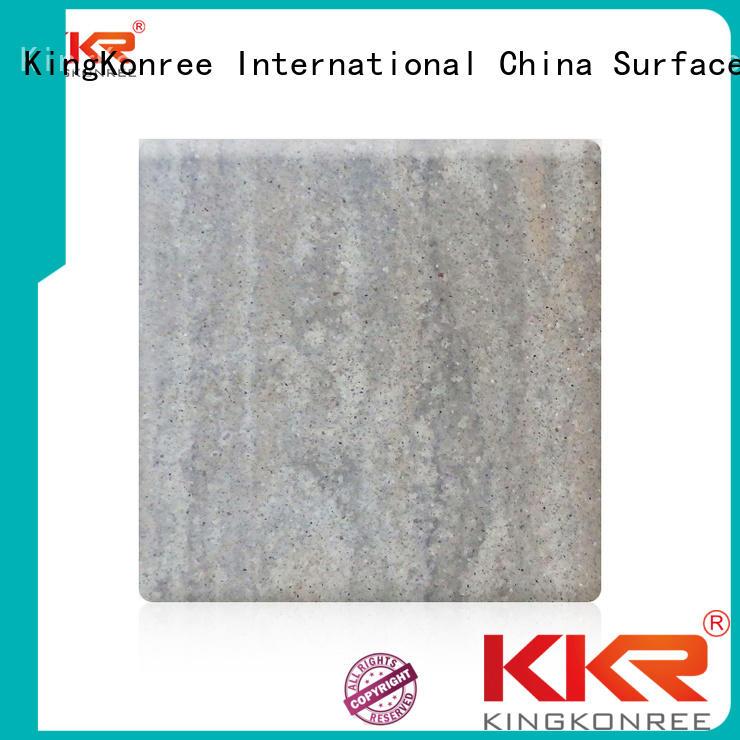 texture solid surface sheets artificial surface KingKonree company