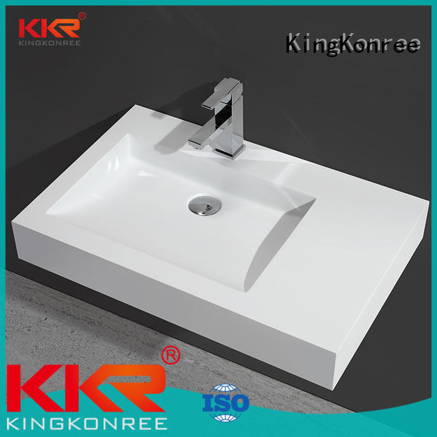 KingKonree toilet wash basin sink for hotel