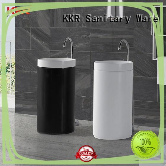 gel bathroom sink stand design for motel