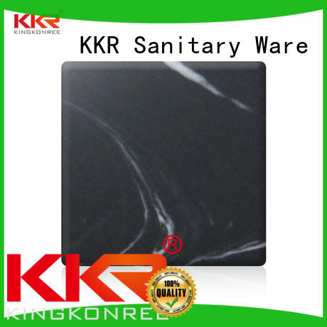 KingKonree resin acrylic solid surface sheets suppliers supplier for home