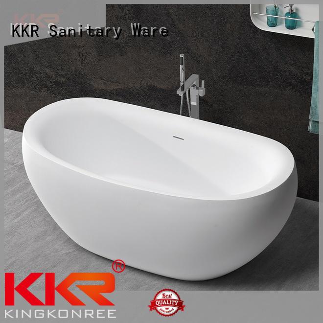 KingKonree rectangular freestanding bathtub free design for family decoration