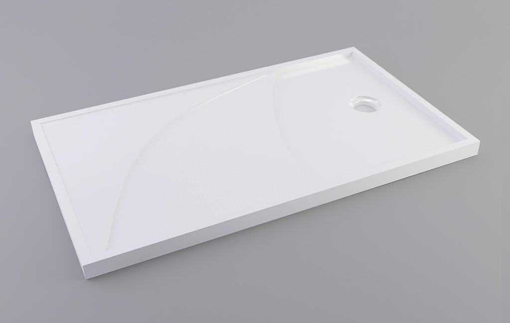 KingKonree long shower tray top for bathroom-3