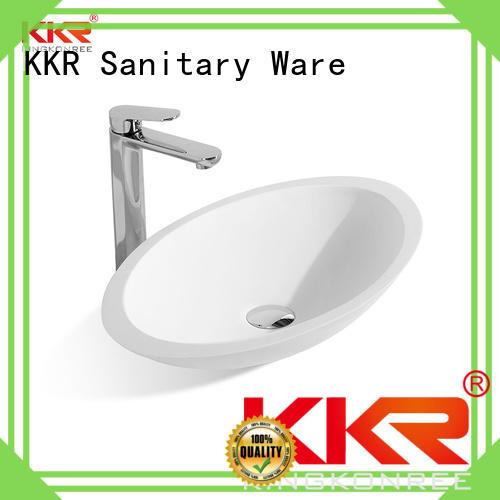 KingKonree durable above counter vanity basin supplier for restaurant
