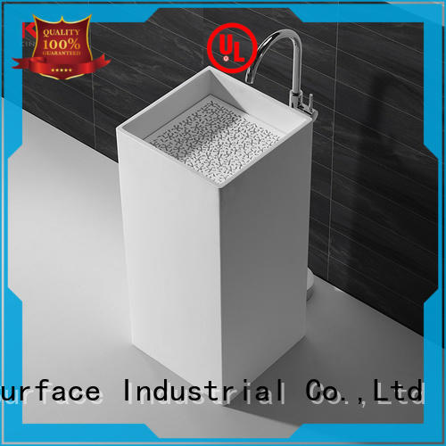 KingKonree solid freestanding basin sinkfree standing wash hand basins gel for bathroom