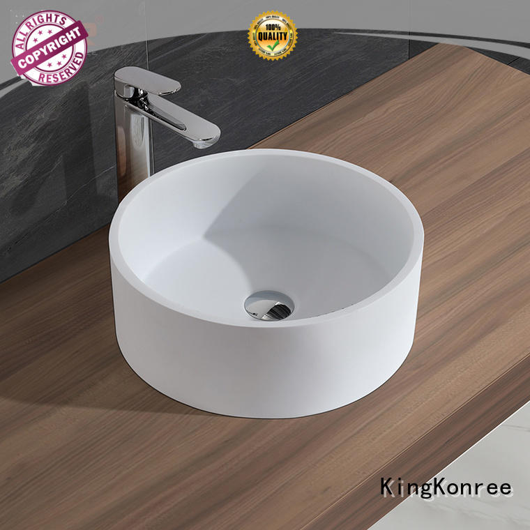 KingKonree marble above counter basins manufacturer for room