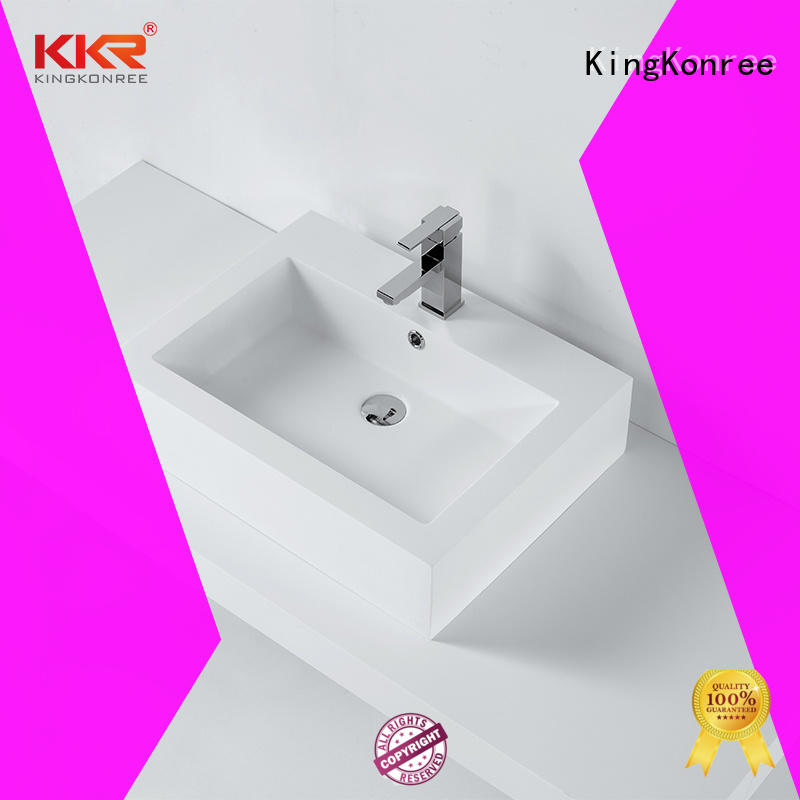 KingKonree bathroom countertops and sinks cheap sample for restaurant