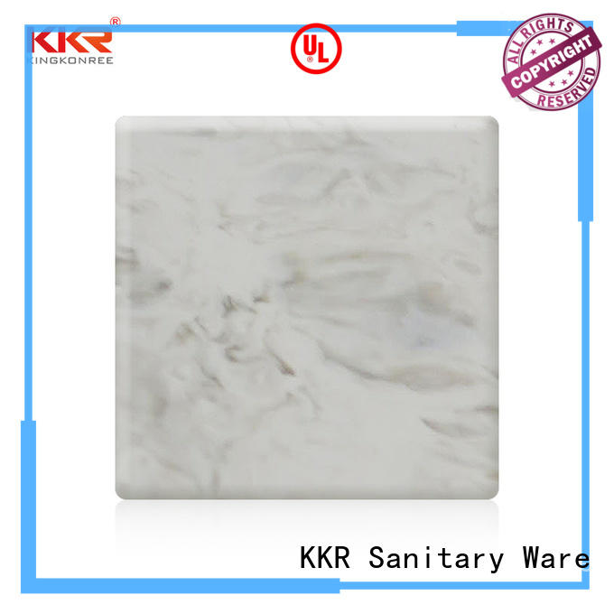 solid surface sheets prices black for indoors KingKonree