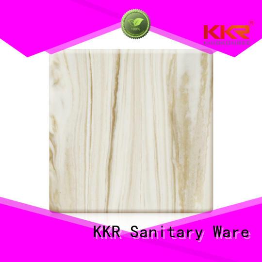 kkr solid solid surface sheets marble KingKonree company