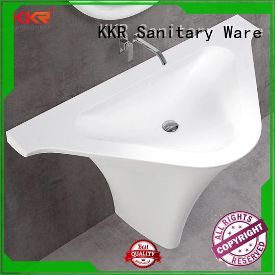 KingKonree solid surface basin highly-rated for bathroom