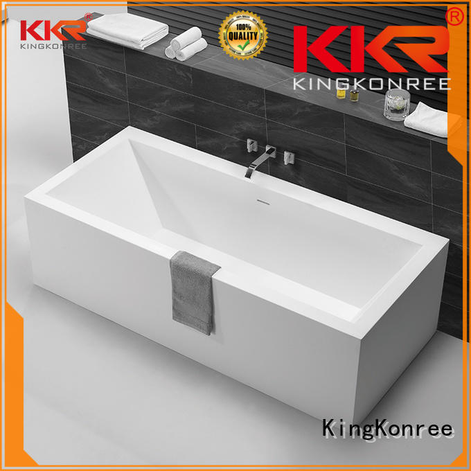 KingKonree freestanding baths price OEM for hotel