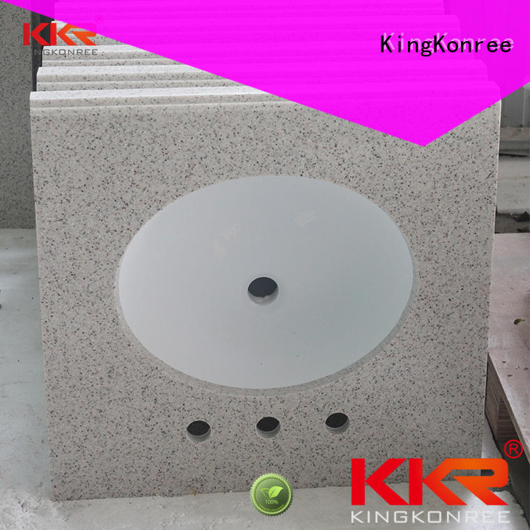 KingKonree bathroom tops manufacturer for motel