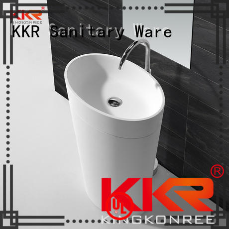 KingKonree marble freestanding bathroom basin supplier for home