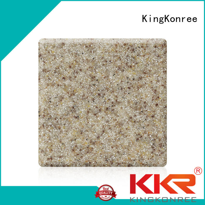 KingKonree Brand acrylic 96 custom acrylic solid surface sheet