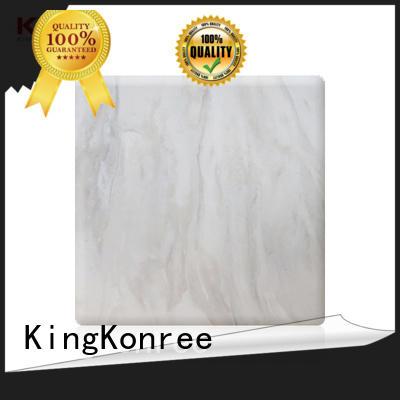 KingKonree modified acrylic solid surface sheet manufacturer for hotel