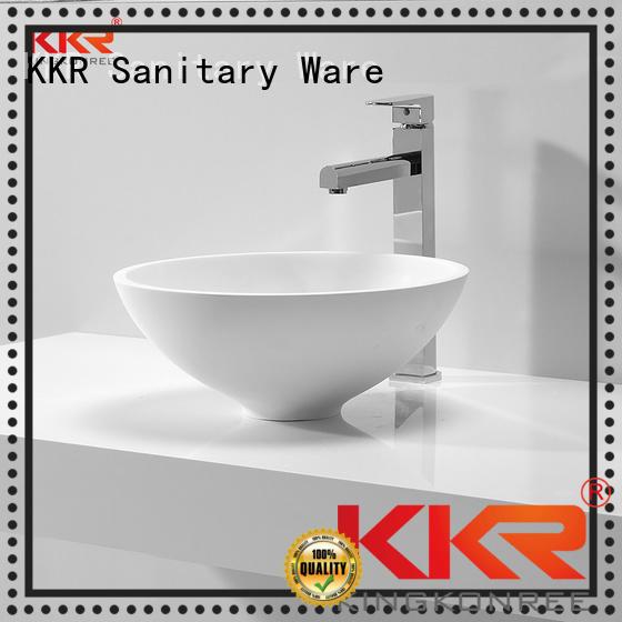 KingKonree Brand basin shape kkr oval above counter basin