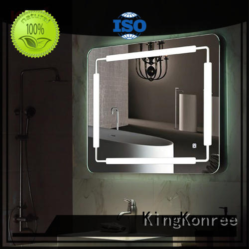 KingKonree unique bathroom mirrors manufacturer for toilet
