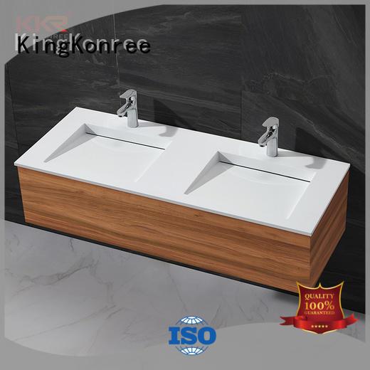 rectangular wash basin white for toilet KingKonree