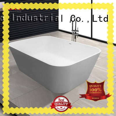 KingKonree matt free standing soaking tubs ODM for hotel