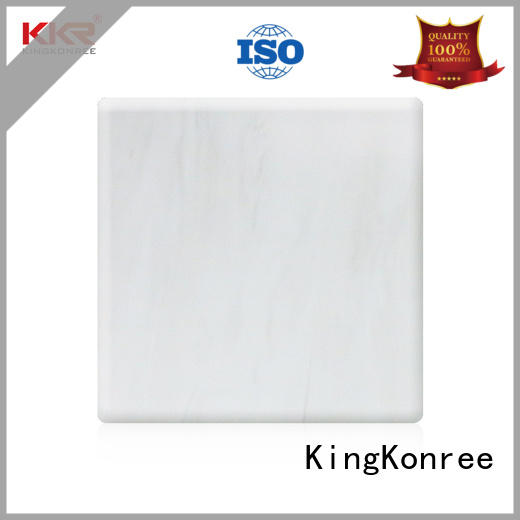KingKonree acrylic solid surface design for indoors