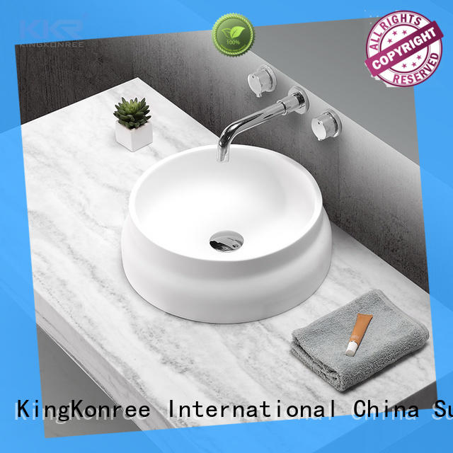 KingKonree best quality above counter sink bowl supplier for hotel