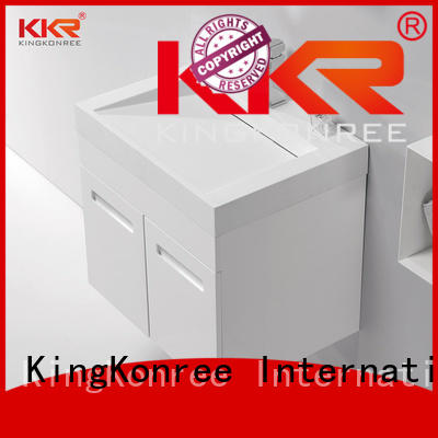 Wholesale sanitary basin with cabinet price KingKonree Brand