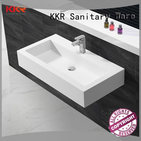 KingKonree wall hung bathroom basins customized for home