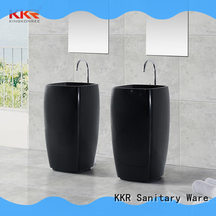durable freestanding basin factory price for hotel