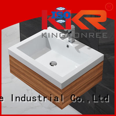 ware smooth touch KingKonree Brand basin with cabinet price manufacture
