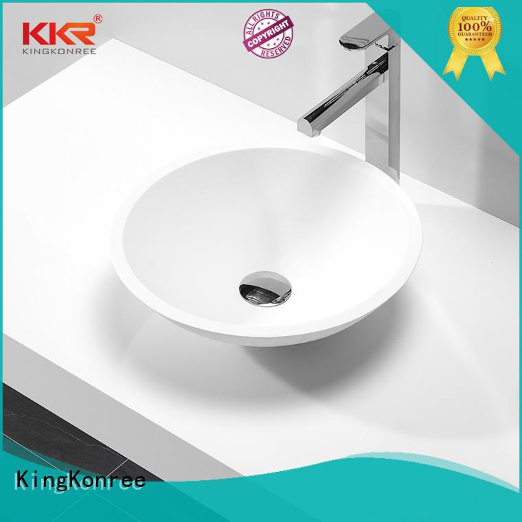 KingKonree top mount bathroom sink supplier for restaurant