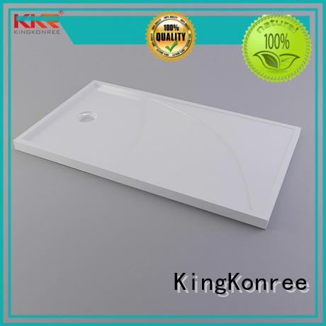 KingKonree artificial bathroom shower trays customized for bathroom