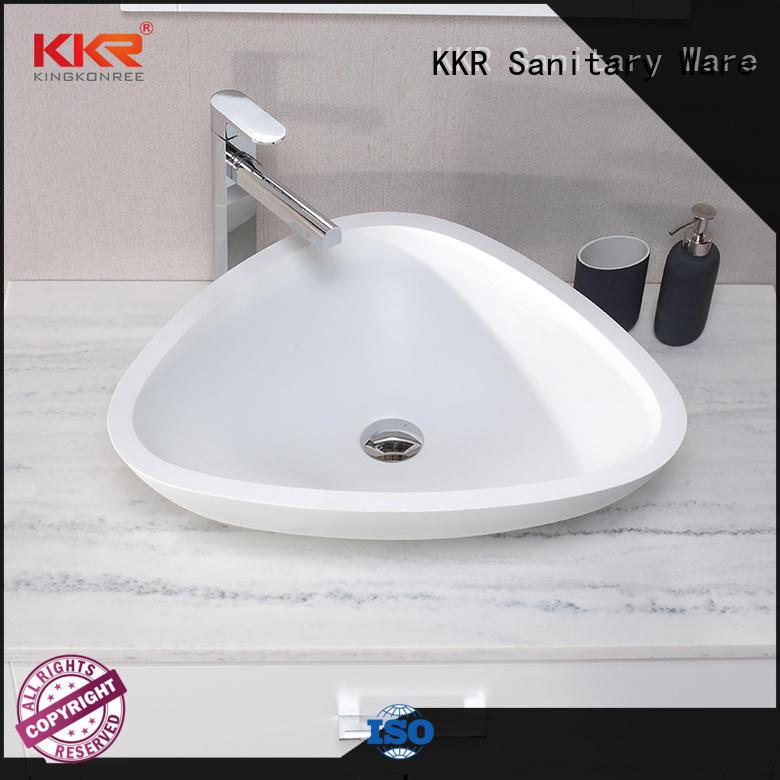 KingKonree above counter basins design for hotel