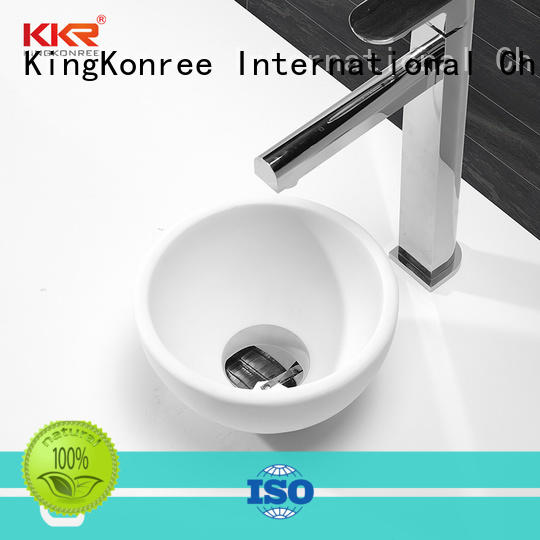 KingKonree standard above counter sink bowl at discount for restaurant