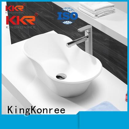 sanitary oval above counter basin solid KingKonree company
