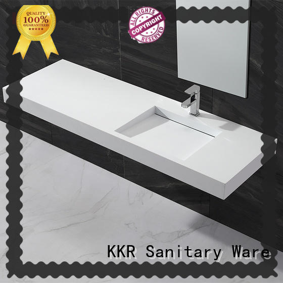 small wall basin resin for toilet KingKonree