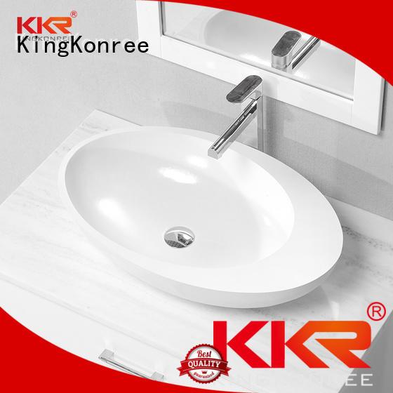square oval above counter basin oval KingKonree company